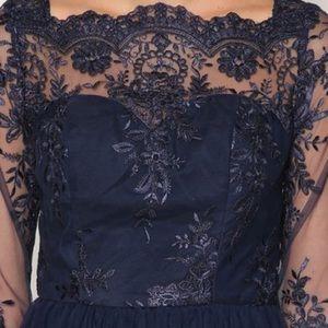 Chi Chi London Brandi Dress - Navy